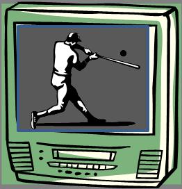 Home Run on TV